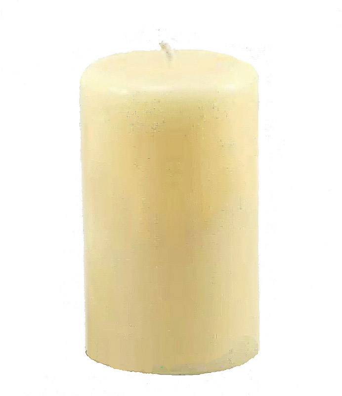 3x3-inch beeswax column candle