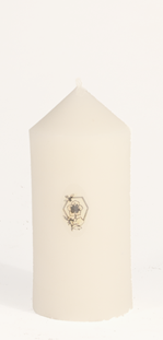 5x2.25-inch beeswax column candle