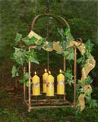 7x2.25-inch Beeswax Column Candle